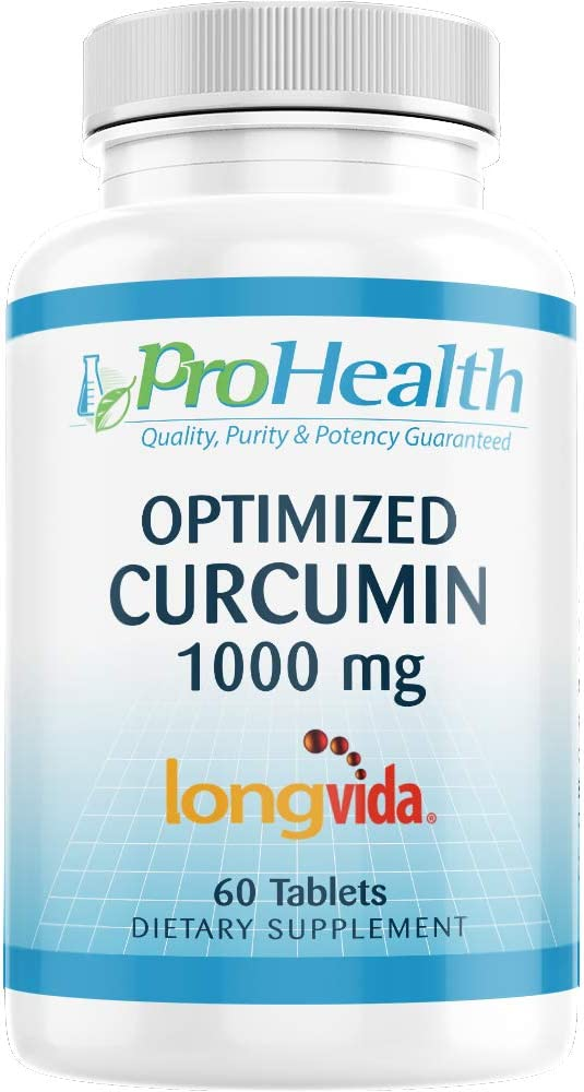 ProHealth Optimized Curcumin At the price of surprise Longvida 2021 new 1000 60 285x Tablets mg