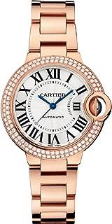 Ballon Bleu18kt Pink Gold Automatic Diamond Ladies Watch WE902064