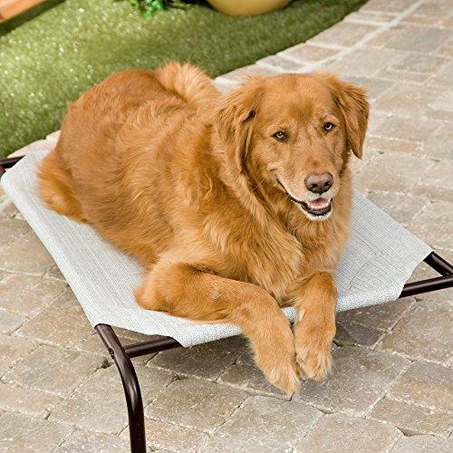 VegTrug Pet Bed Extra Large Grey Haustierbett, grau, XL
