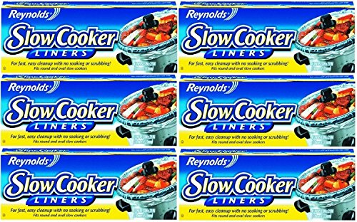 Reynolds Slow Cooker Liners, 4-Count (Pack of 6)