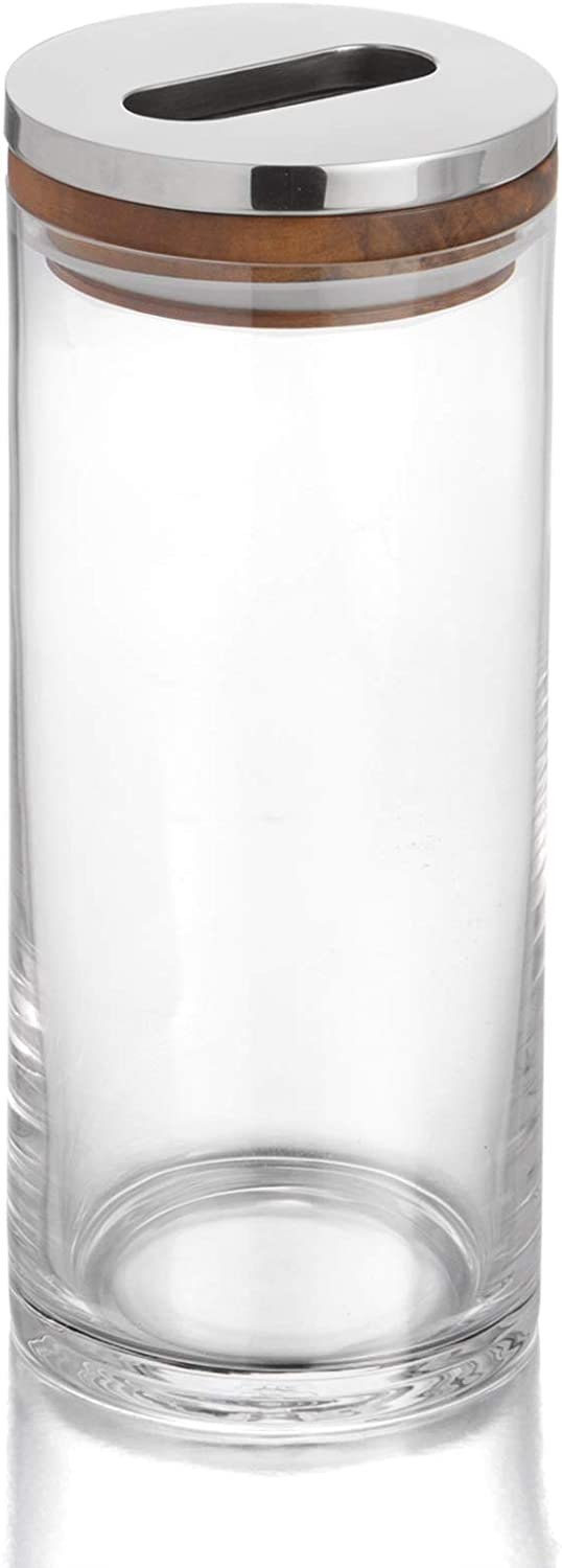 Nambe Gourmet Collection Maris Canister – 10""
