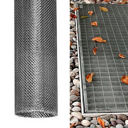 DILUMA | Lichtschachtabdeckung 60x120 cm aus Edelstahl | Kellerschachtabdeckung für Zuverlässigen Schutz