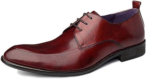 increíbles descuentos YCGCM hombres zapatos De Cuero