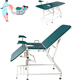 Gynecological Examination Bed, Beauty Bed Folding Portable Outpatient Medical Bed Examination Chair, Women Nursing Equipment