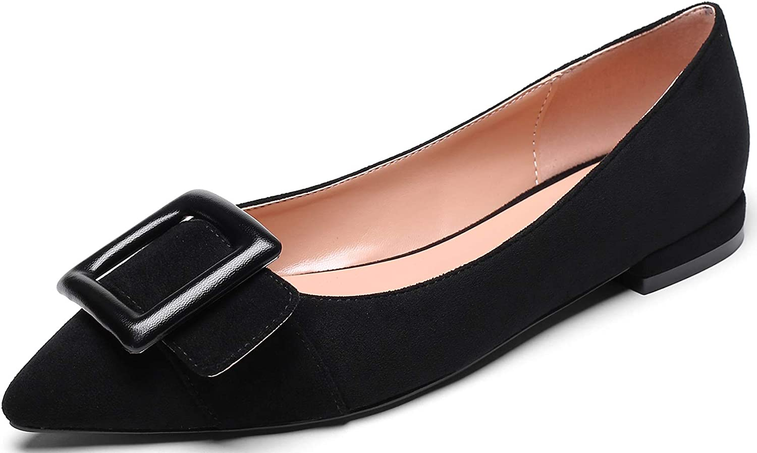 Mettesally Women's Flat Pointed Popular popular Toe Ballet Shoes Milwaukee Mall for Flats