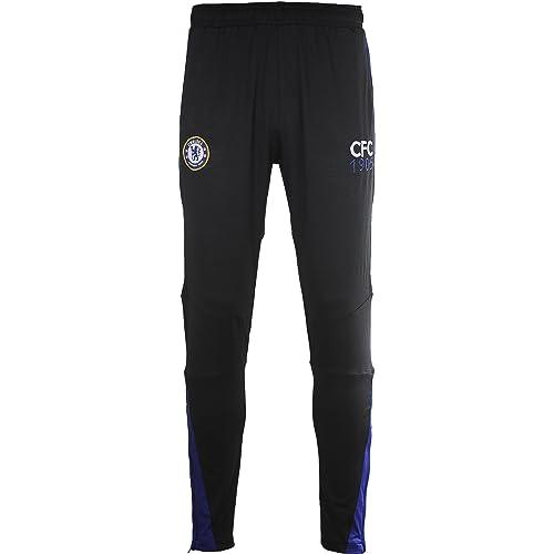 Chelsea FC Fútbol 1341501 L Training Pant Adulto, Negro/Royal, FR ...