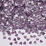 Natural comestible OMG azúcar tuercas de soja Gluten libre corazón de purpurina