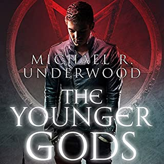 The Younger Gods                   By:                                                                                                                                 Michael Underwood                               Narrated by:                                                                                                                                 Luke Daniels                      Length: 8 hrs and 43 mins     98 ratings     Overall 4.0