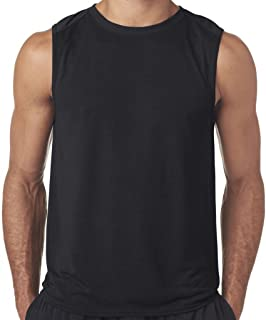 Yoga Clothing For You Mens Moisture-Wicking Muscle Tank Top Shirt