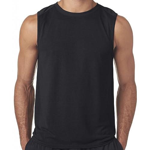 7b021c42 Yoga Clothing For You Mens Moisture-Wicking Muscle Tank Top Shirt