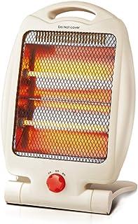 KOKIN Calefactores y radiadores halógenos eléctrico Estufa halógena Calor Halógeno 700W (Control de Temperatura, Funcion Ventilador, Proteccion sobrecalentamiento, Anti-vuelco)