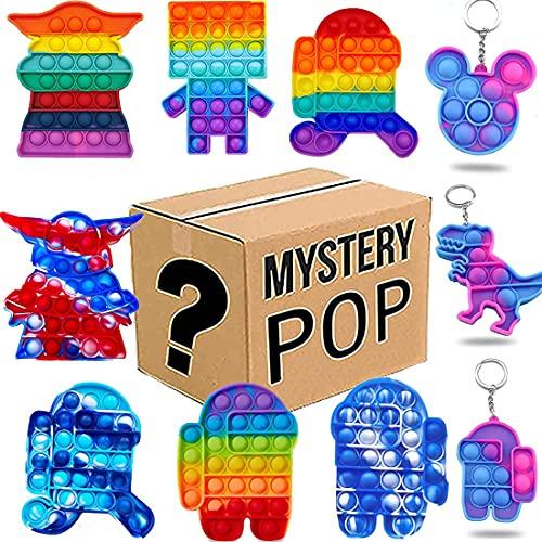GDICONIC Caja misteriosa Caja de misterio,caja de misterio electrónica,cajas de misterio aleatorio,caja de sorpresa de cumpleaños,caja de cumpleaños para adultos sorpresa regalo,este es un juego sobre