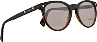 3694fcd57404 Versace VE3257 Eyeglasses 51-18-140 Black Havana w/Demo Clear Lens 5117