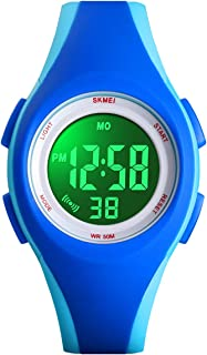 Kids Digital Watch, Boys Sports Waterproof Led Watches Kids Watches with Alarm Wrist Watches for Boy Girls Children