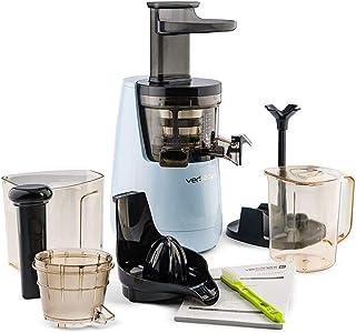 Versapers 5G Cold Press Slow Juicer Pastel Blauw 150 W (43 tpm) Met 5 accessoires voor vers fruit- en groentesap, professi...