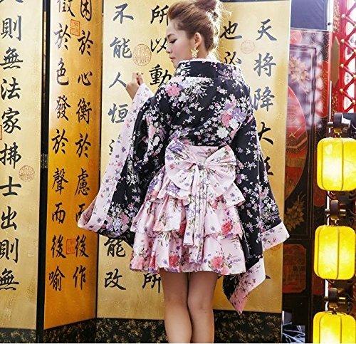 『花魁 着物 足袋 帯付き コスチューム レディース フリーサイズ』のトップ画像