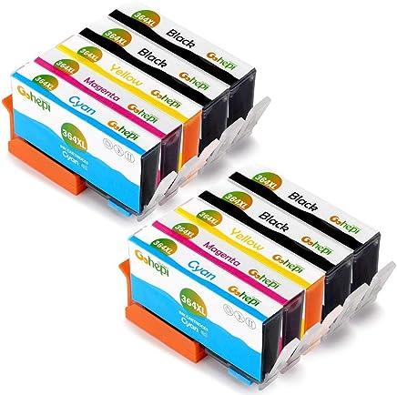 Gohepi 364XL Compatibile Cartucce HP 364 XL per HP Photosmart 5520 6520 5510 7510 6510,Premium C309g B010 B109a B110,HP Deskjet 3520 3070A ,HP Officejet 4620 4622 , 4 Nero/2 Ciano/2 Magenta/2 Giallo