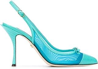 DOLCE E GABBANA Luxury Fashion Womens CG0400AX0478L610 Light Blue Heels | Spring Summer 20
