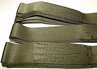 2 Piece Set 5' Offroad Tow Cargo Recovery Straps - ATV Tree Saver - Looped Ends Heavy Duty Sling 9000 lb Military Issue Nylon Webbing USA - TyCa Industries, Model: , Car & Vehicle Accessories / Parts