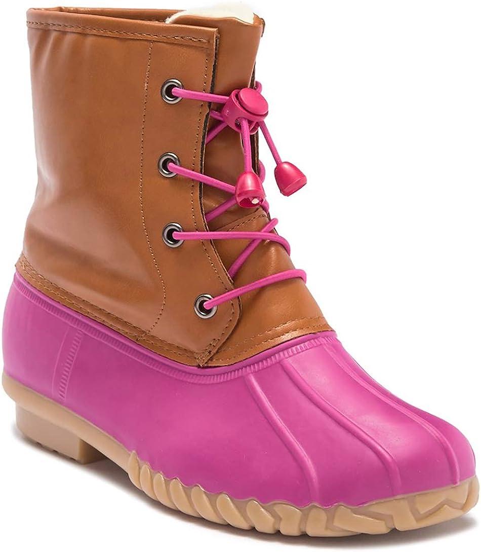 Amazon.com | Girls Pink Duck Boot | Boots
