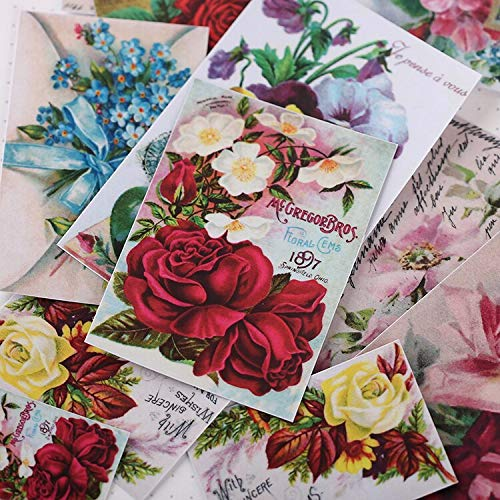 YRBB 16 stuks Creative Kawaii zelfmade background Leaf Strawberry Stickers/Beautiful/Decoratieve sticker/DIY ambachtelijke fotoalbums