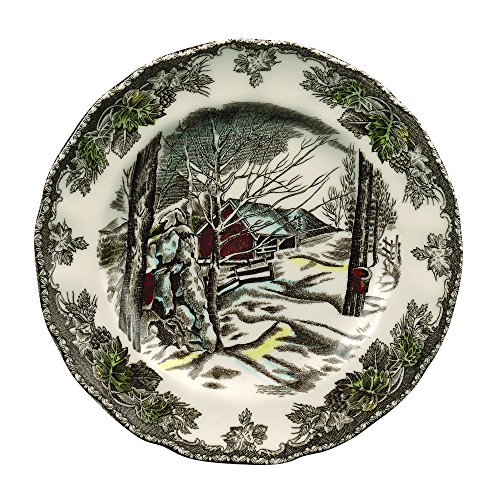 Johnson Brothers Friendly Village Bread & Butter Plate, 6', Multicolored