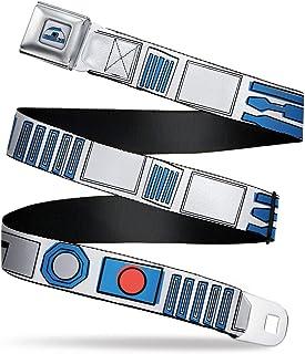 Electric Gengar Poses Stripe Black//Purple 1.0 Wide Buckle-Down Seatbelt Belt 20-36 Inches in Length