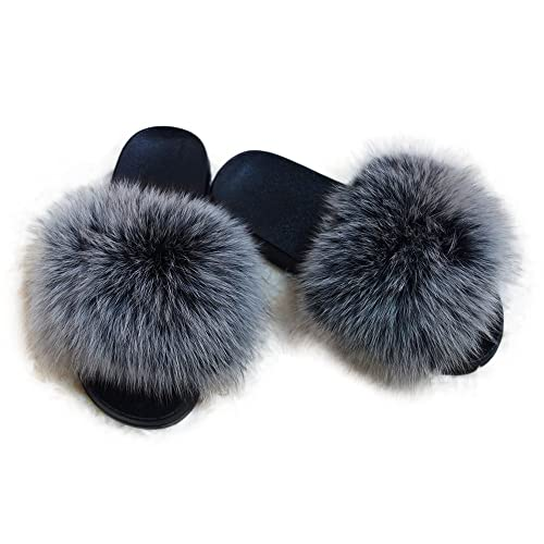 amazing price authentic quality reasonably priced Fluffy Sandals: Amazon.com