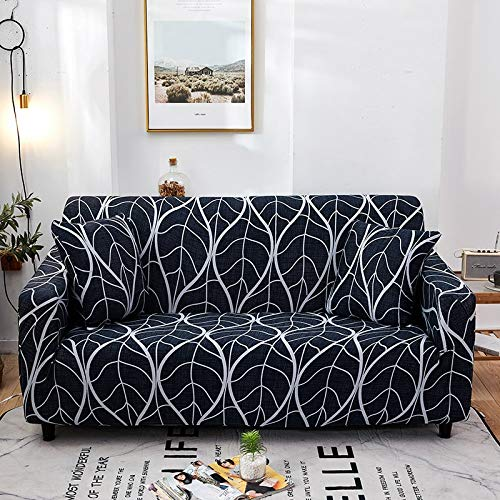 Cross Stripped Stretch Slipcovers Elastic Fully-wrap Anti-dust Sofa Cover for Living Room Couch Cover Sofa Towel A19 2 seater