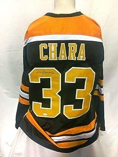 Zdeno Chara Signed Jersey - Custom - JSA Certified - Autographed NHL Jerseys