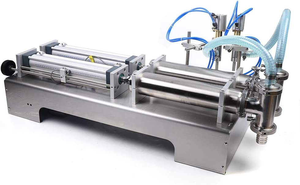 100-1000ML Paste Filling Machine Pneumatic heads Cre Over item handling ☆ Automatic Raleigh Mall 2