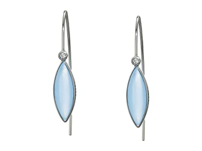 Skagen Seaglass Silver-Tone Stainless Steel Earrings (Silver-SKJ1331040) Earring