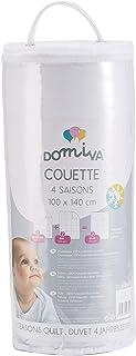 DOMIVA Couette 4 Saisons 100 + 200 g 100 x 140 cm