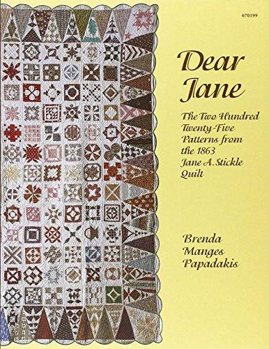 EZ Quilting Dear Jane - Musterbuch für...