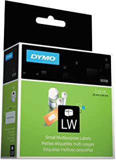 DYMO 30336 LabelWriter Multipurpose Labels, 1 x 2 1/8, White, 500 Labels/Roll