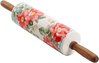 pioneer woman rolling pin red