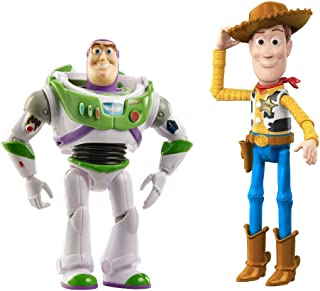 Disney Toy Story4 Buzz Lightyear and Woody Adventure Pack Plus Forky