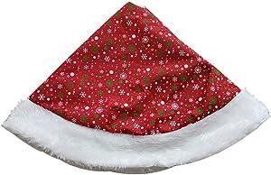 Jupe De Sapin De Noël - Grande Robe Blanche Enneigée De Jupe De Sapin De Noël Blanche