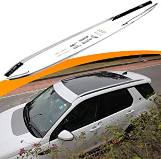 SnailAuto Silver Roof Rack Roof Rails Side Rails Fit for Land Rover Discovery Sport 2015 2016 2017 2018 2019