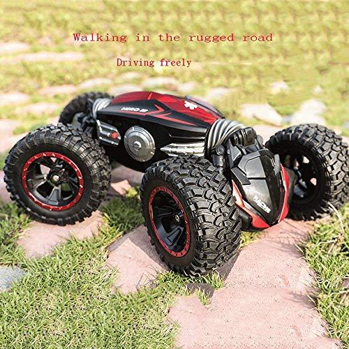 Coche de control remoto de carga sobredimensionada coche de control remoto SUV volante de cuatro ruedas unidad deriva de escalada pie grande control remoto niños de carreras chico juguete coche de jug