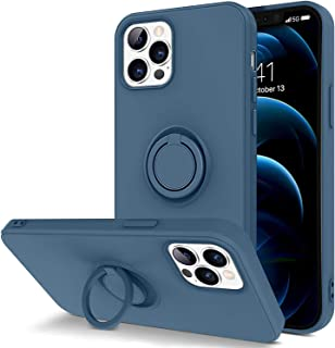 Case for iPhone 12 (Pro Max - Pro - 12 - Mini) soft Liquid Silicone - soft microfiber inside - Ultra Slim and lightweight...