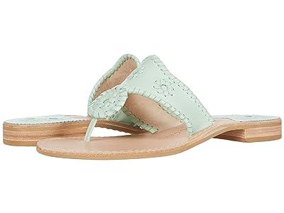 Jack Rogers Jacks Flat Sandal (Mint) Women
