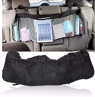 Car Multi-Pocket Large Back Seat Travel Storage Pouch Bag Hanging Holder Tidy Organizer for VW Audi BMW Peugeot Hyundai
