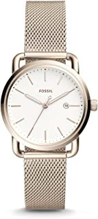 Fossil Casual Watch For Women Analog Stainless Steel - ES4349
