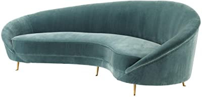 Amazon.com: Tov Furniture TOV-S133 Baila - Sofá, color gris ...