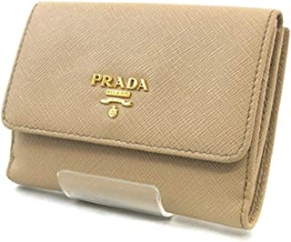 Prada Portafoglio Pattina Cammeo and Orchidea Saffiano Multic Leather Wallet 1MH523