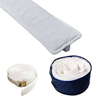 TIURE Bed Bridge Mattress Connector Premium Finish Hypo-Allergenic Foam 6.6 Feet x 6.7 Inches Fits King Queen Twin XL Storage Bag Included