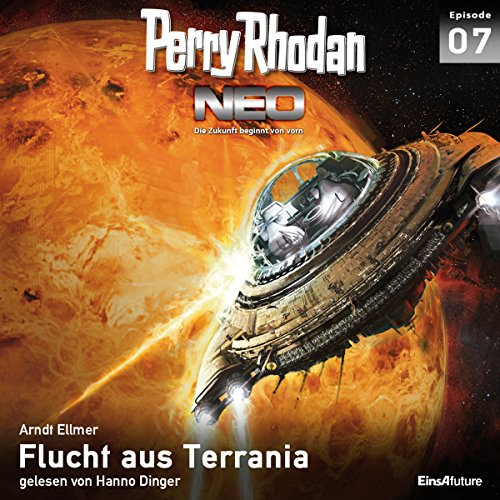 Flucht aus Terrania audiobook cover art
