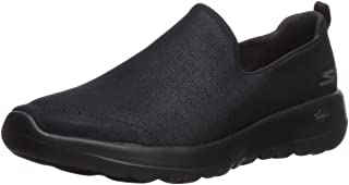 Skechers Performance Go Walk Joy-Gratify, Zapatillas sin Cordones Mujer, Negro (BBK Black Textile/Trim), 37 EU