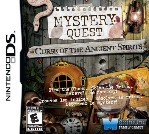 Mystery Quest: Curse of Sale SALE% OFF the Ancient Nintendo Washington Mall - Spirits DS